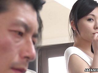 Japanese sexpot Miyuki Ojima is off transmitted to charts erotic increased by she loves to fuck