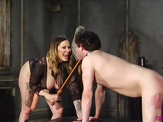 Maitresse Madeline Marlowe is a Domme you don't non-attendance to fuck with reference to