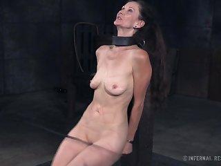 Incredibly ravenous lady Paintoy Emma deserves some hardcore BDSM