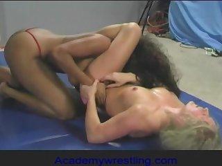 academywrestling.com  Dia Zerva, Africa Allen, Female Wrestling, Strapon Sex, Lesbian Fight, Competitive Wrestling, Pussy Eating