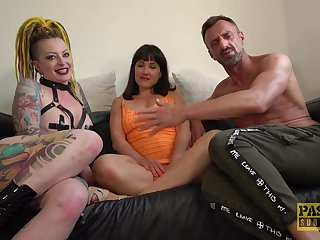 MILFs get totaled in a fine amateurish trio mainly cam