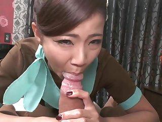Nami Amami Oil Massage-Interracial Blowjob, Handjob - Nami amami