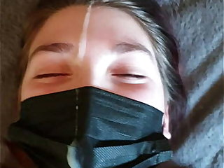 TABOO stepdaddy and daughter lockdown led there insane facial!