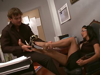 Marvelous riding skill for a MILF her discretion