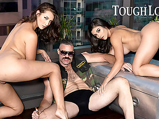 TOUGHLOVEX Brooklyn coupled with Bella pleasing dab hand Karl