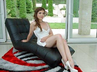 Luscious porn actress Alisha Fury gives an dedicate
