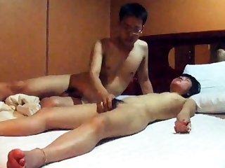 Really Cute Korean GF's motel sex