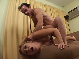 Hot Latina getting her pussy destroyed by a big cock